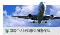 中国人寿保险深圳市分公司国寿个人旅游意外伤害保险